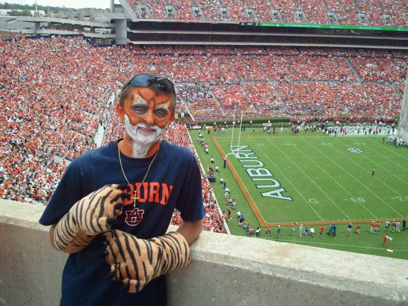 Seating view for Jordan-Hare Stadium Section 6 Row 3 Seat 12