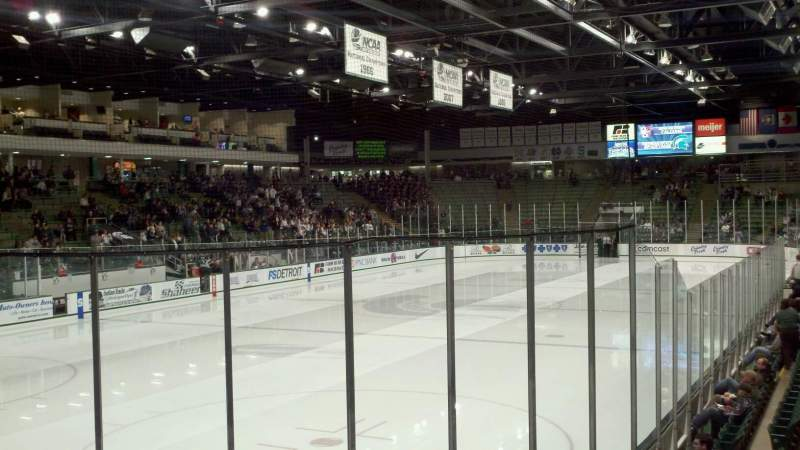 Seating view for Munn Ice Arena