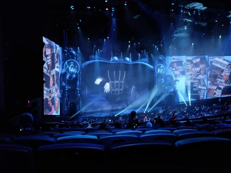 Seating view for Michael Jackson One Theatre Section 202 Row QQ Seat 7