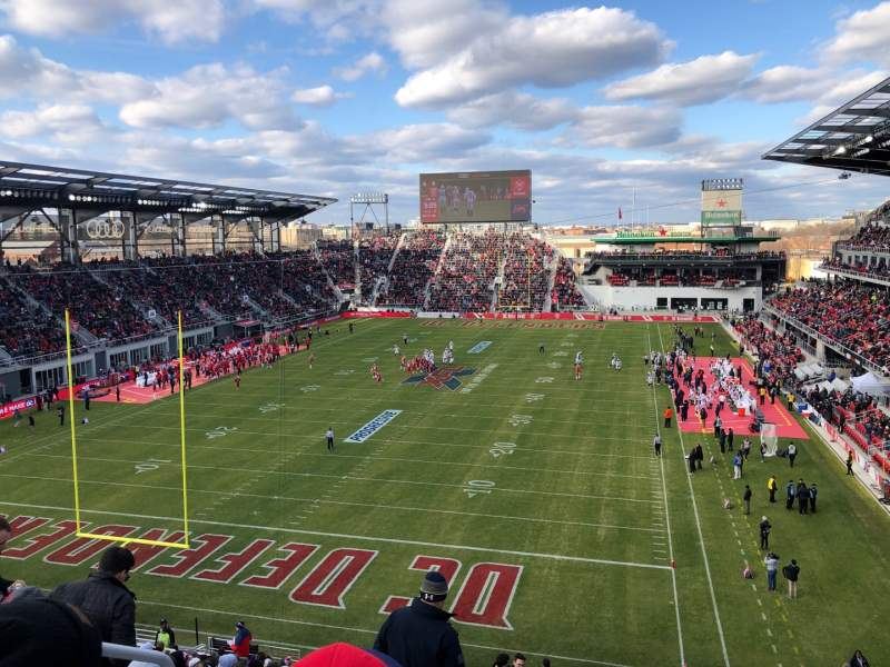 Seating view for Audi Field Section 115 Row 26 Seat 20