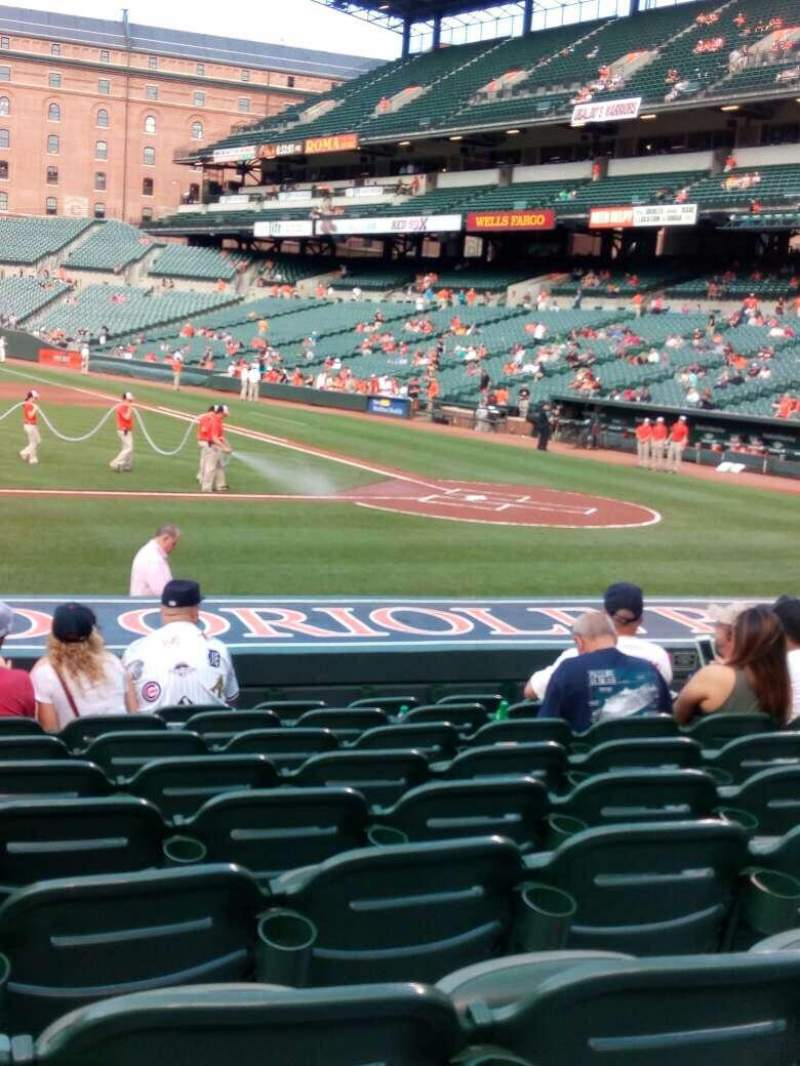 Seating view for Oriole Park at Camden Yards Section 50 Row 9 Seat 10
