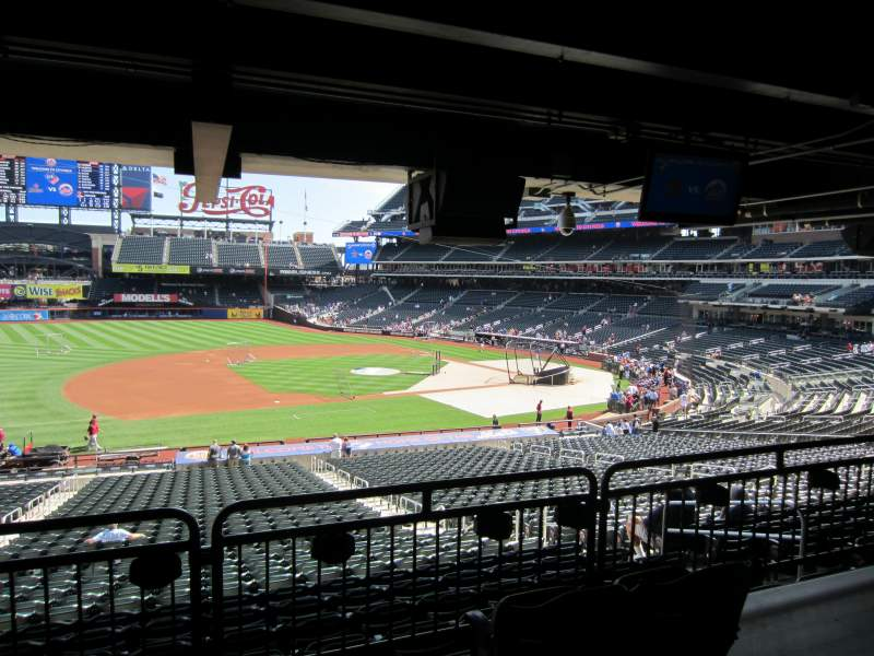 Seating view for Citi Field Section Metropolitan Box Row 31 Seat 9