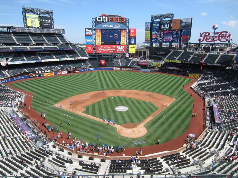 Seating view for Citi Field Section Promenade Club - 416 Row 4 Seat n/a