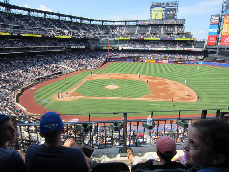 Seating view for Citi Field Section 312 Row 3 Seat 6