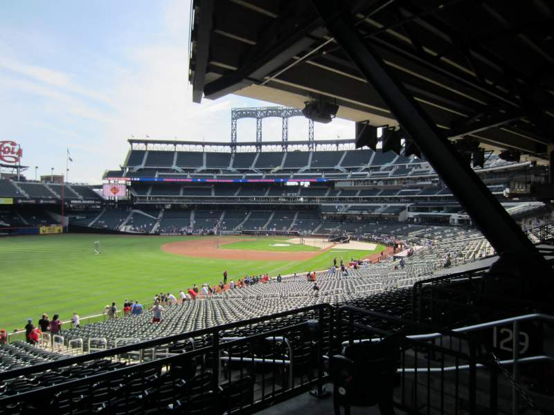 Seating view for Citi Field Section 130 Row 36 Seat n/a