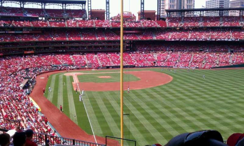 Seating view for Busch Stadium Section 229 Row 9 Seat 1