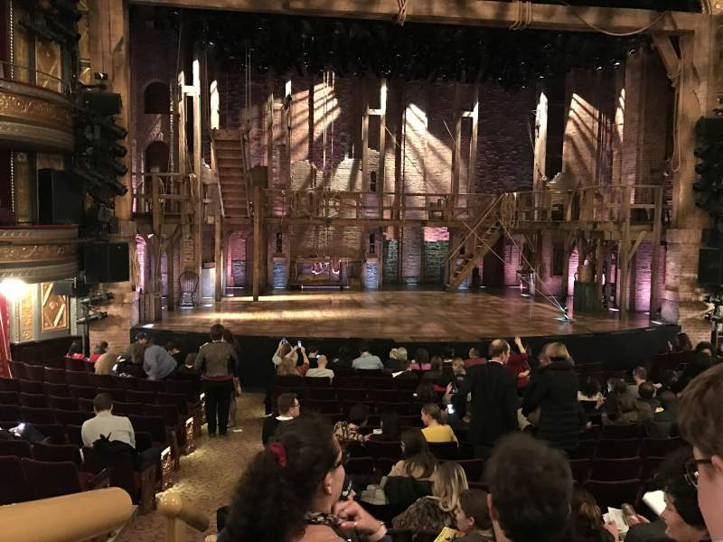 Seating view for Richard Rodgers Theatre Section Orchestra c Row O Seat 113