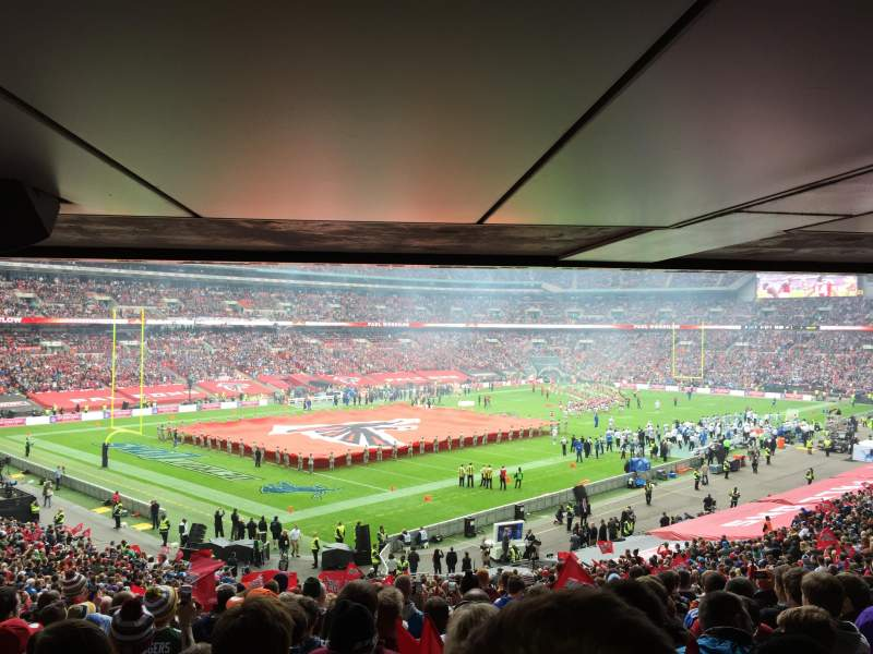 Seating view for Wembley Stadium Section 129 Row 44 Seat 177