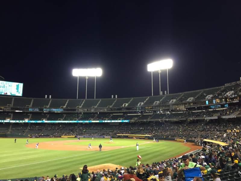 Oakland Alameda Coliseum, section: 128, row: 21, seat: 11