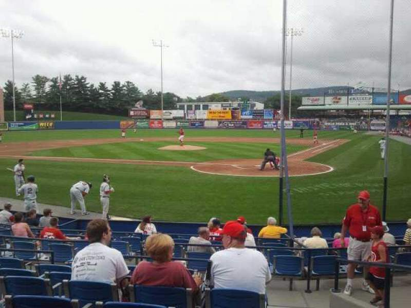 FirstEnergy Stadium (Reading), section: Yellow 5, row: A, seat: 1