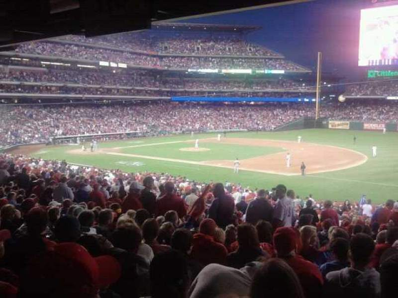Seating view for Citizens Bank Park Section 113 Row Standing