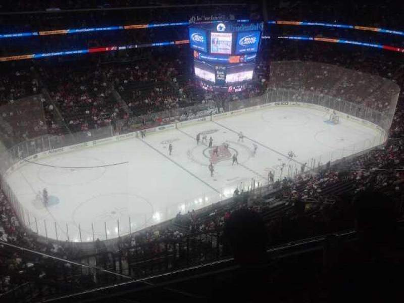 Seating view for Prudential Center Section 226 Row 4 Seat 15