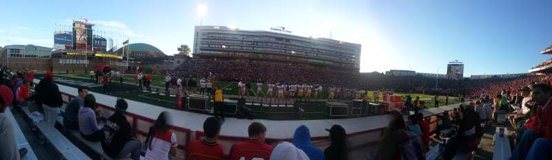 Maryland Stadium, section: 4, row: D, seat: 18
