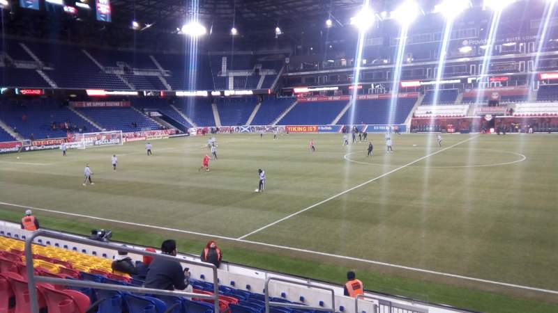 Seating view for Red Bull Arena (New Jersey) Section 125 Row 11 Seat 31