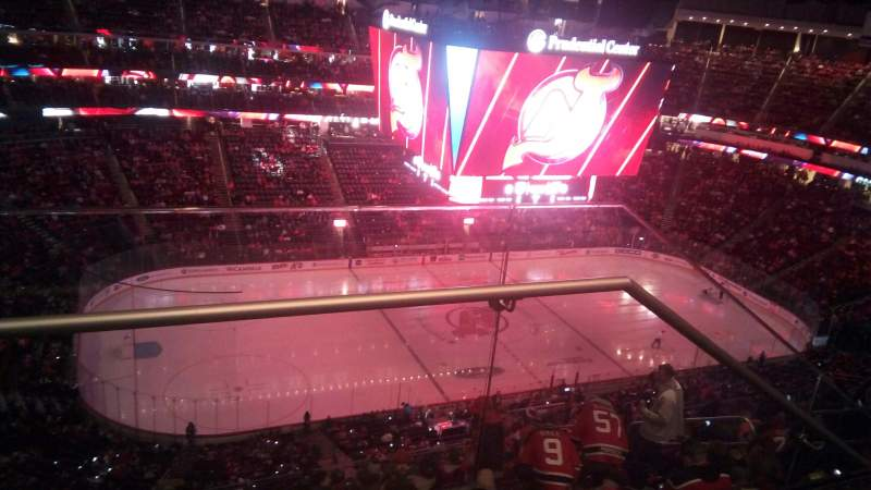 Seating view for Prudential Center Section 210 Row 2 Seat 19