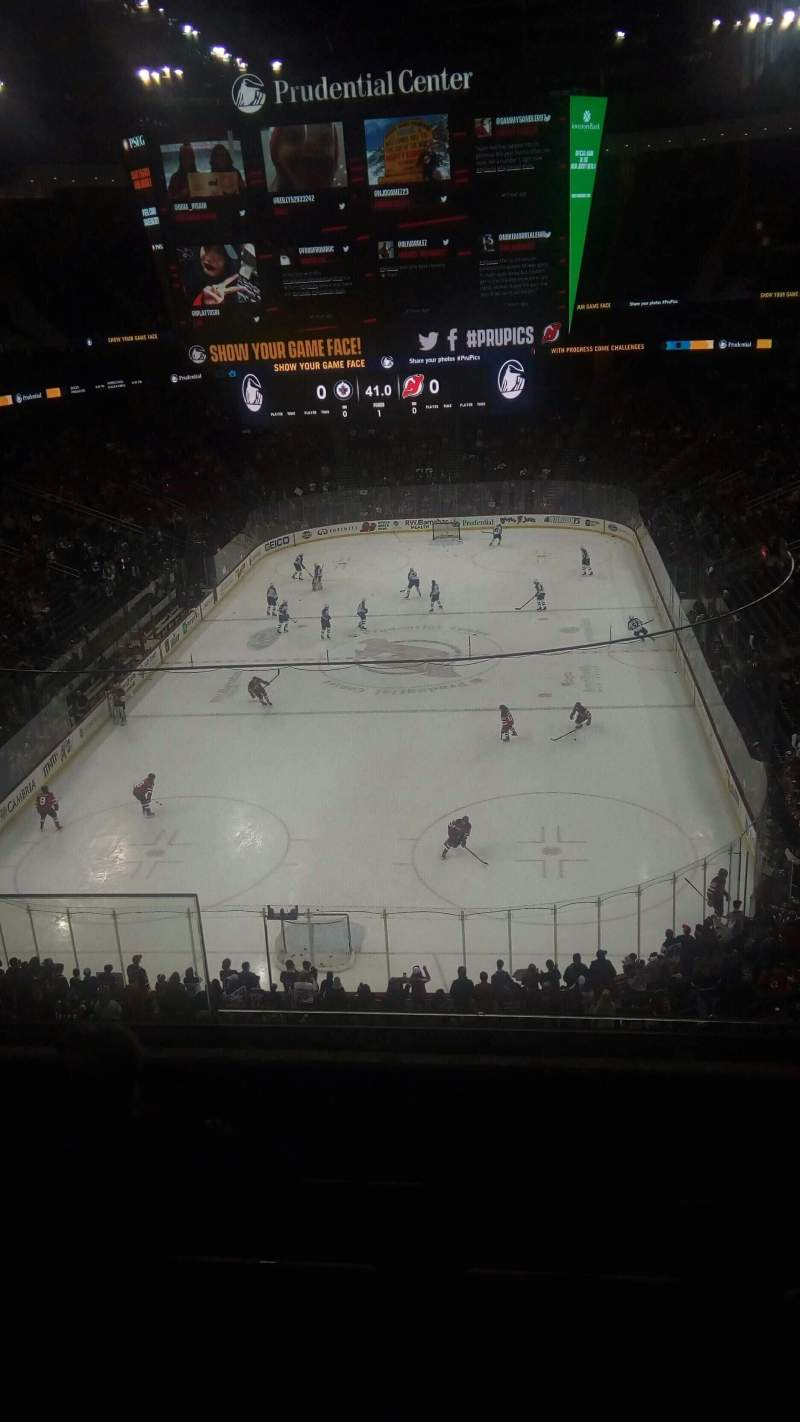 Prudential Center, section: 121, row: 5, seat: 13