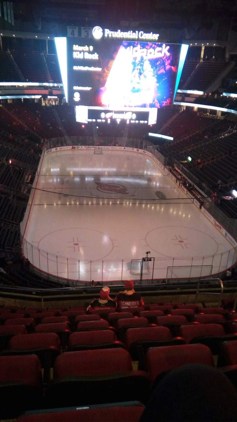 Seating view for Prudential Center Section 102 Row 9 Seat 5