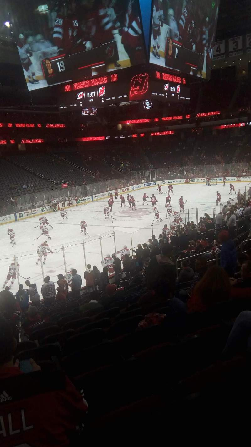Seating view for Prudential Center Section 5 Row 19 Seat 17