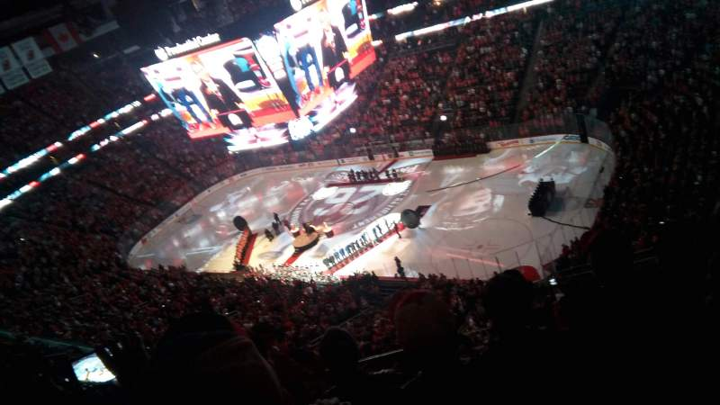 Seating view for Prudential Center Section 216 Row 5 Seat 5