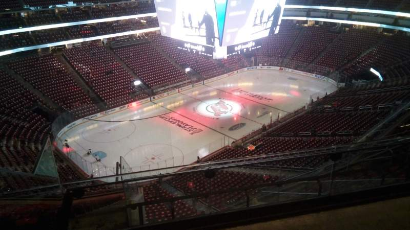 Seating view for Prudential Center Section 208 Row 3 Seat 9