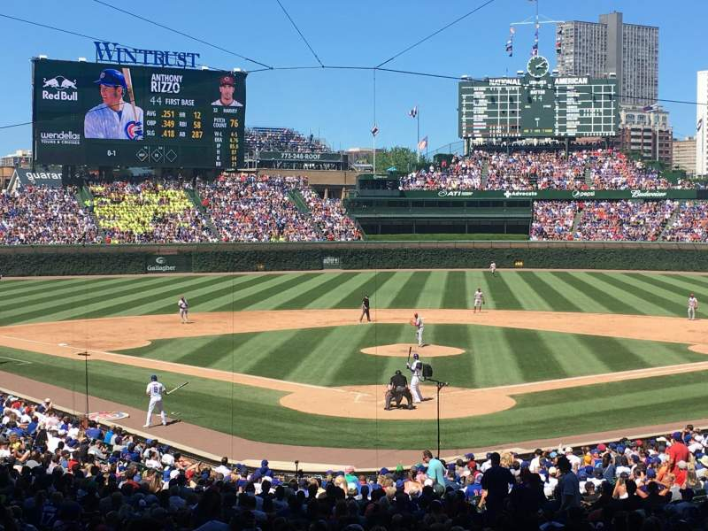 Wrigley Field, section: 222, row: 7, seat: 103