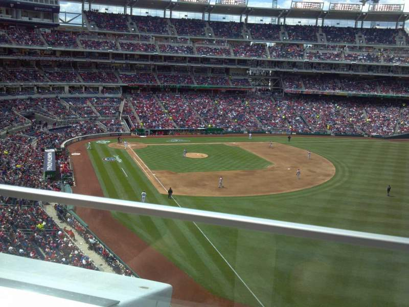 Seating view for Nationals Park Section 230 Row ADA Seat 5