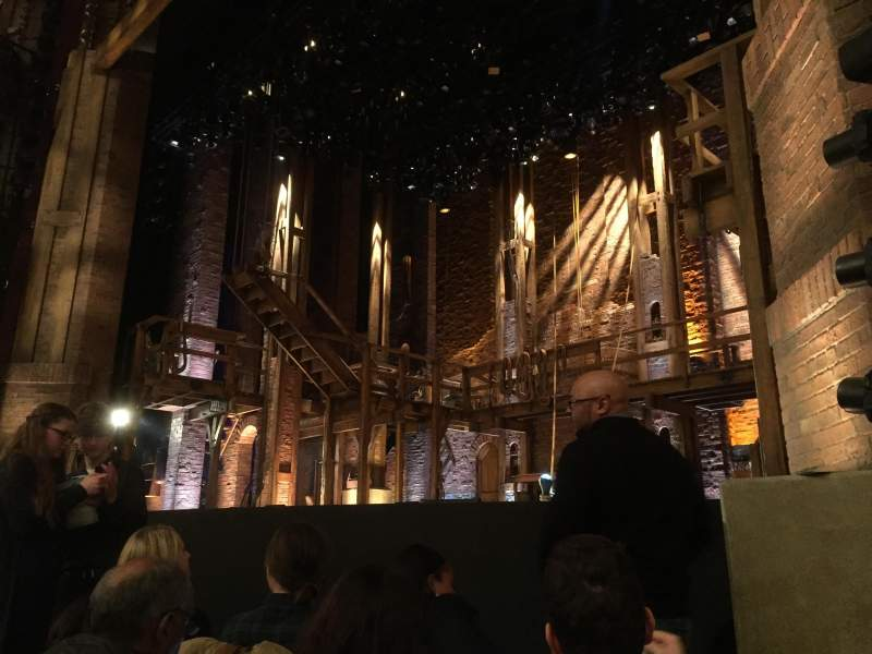 Seating view for Richard Rodgers Theatre Section Orchestra R Row E Seat 12