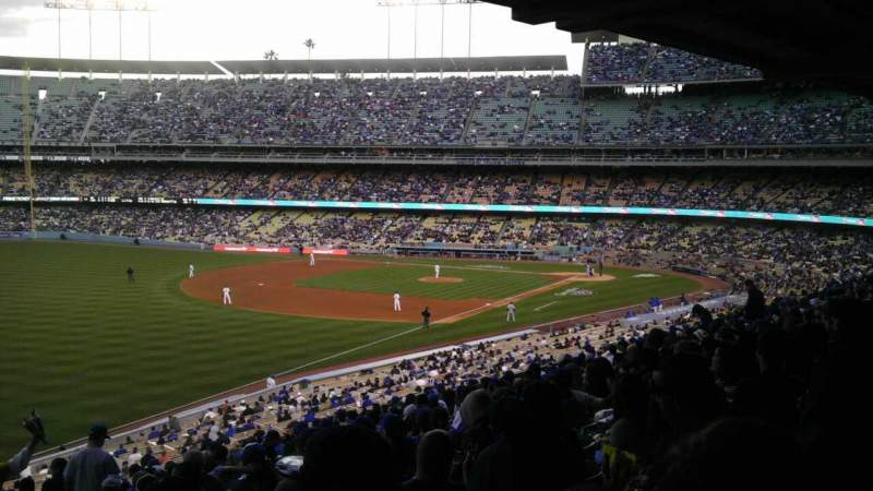 Seating view for Dodger Stadium Section 159LG Row S Seat 4