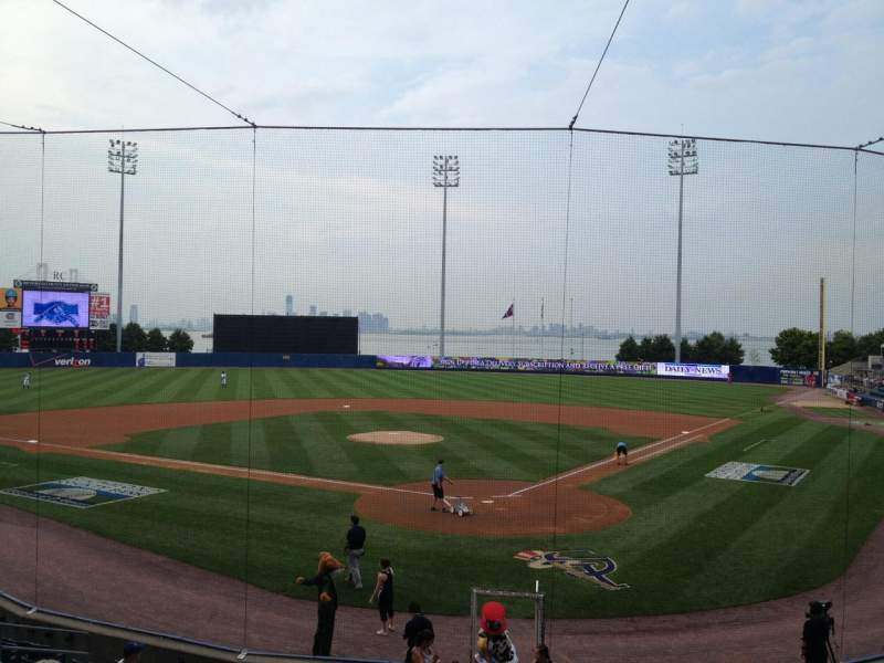 Seating view for Richmond County Bank Ballpark Section 9 Row R Seat 25