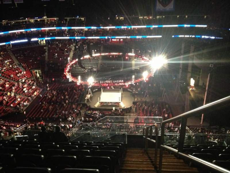 Seating view for Prudential Center Section 212 Row 9 Seat 1