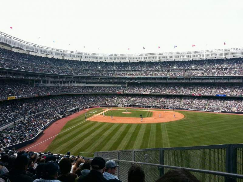 Seating view for Yankee Stadium Section 205 Row 17 Seat 3