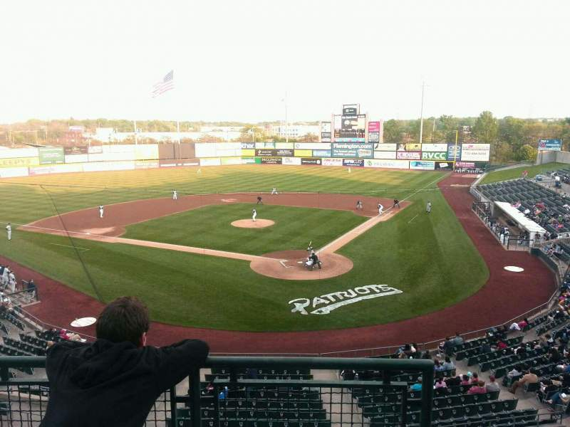 Seating view for TD Bank Ballpark Section Suite 306 Row C Seat 1
