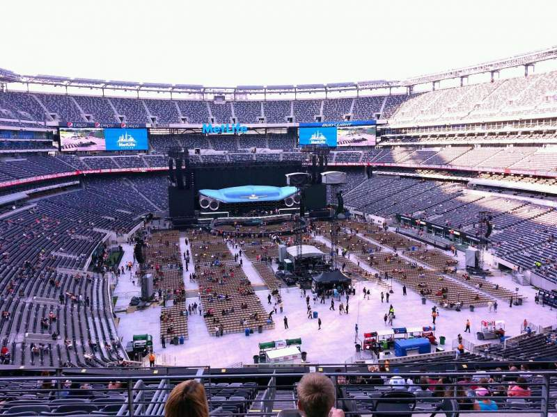 Seating view for MetLife Stadium Section 228B Row 4 Seat 12