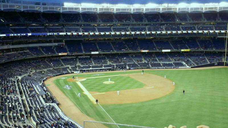 Seating view for Yankee Stadium Section 308 Row 4 Seat 21