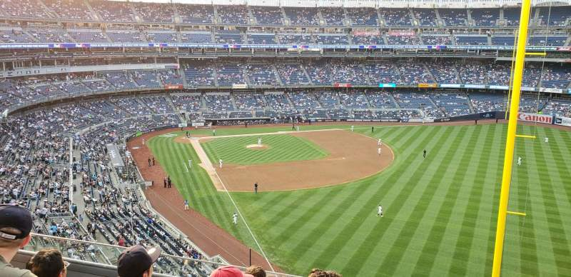 Seating view for Yankee Stadium Section 308 Row 5 Seat 7
