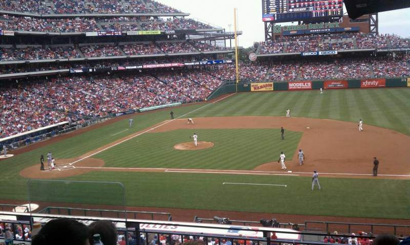 Seating view for Citizens Bank Park Section Suite 50
