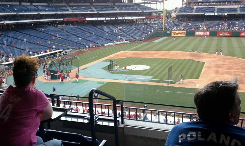 Seating view for Citizens Bank Park Section Suite 48 Row 1 Seat 9