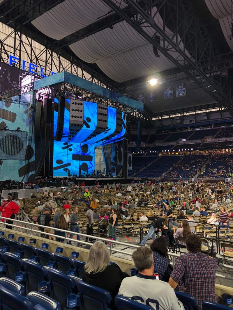 Seating view for Ford Field Section 106 Row 5 Seat 21