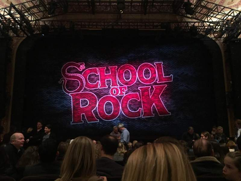Seating view for Winter Garden Theatre Section Orchestra Row M Seat 108