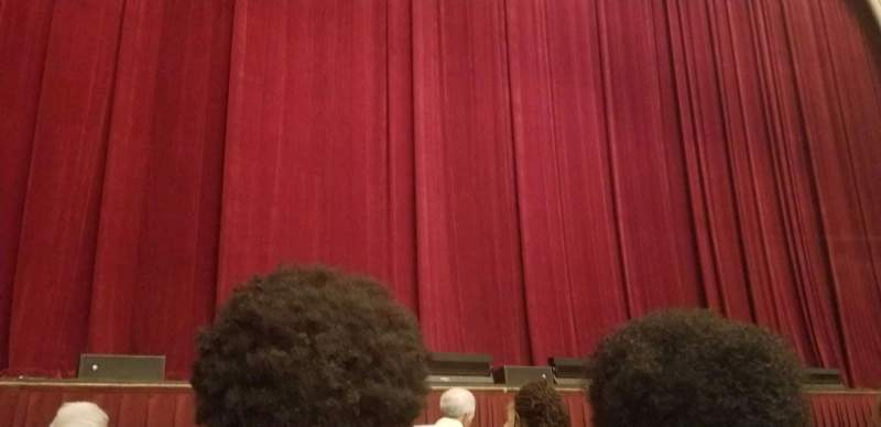 Seating view for Modell Performing Arts Center Section Orchestra Row B Seat 109