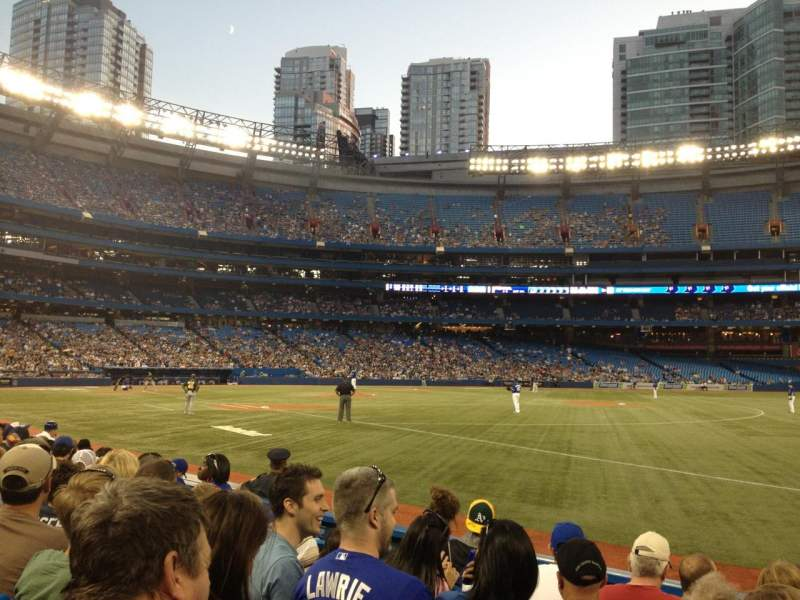 Rogers Centre, section: 113, row: 7, seat: 10