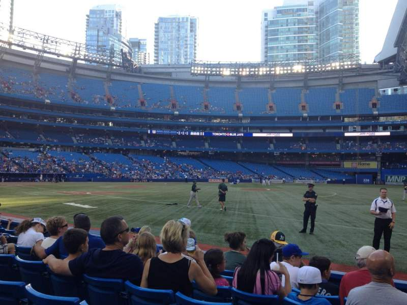 Seating view for Rogers Centre Section 113 Row 7 Seat 10