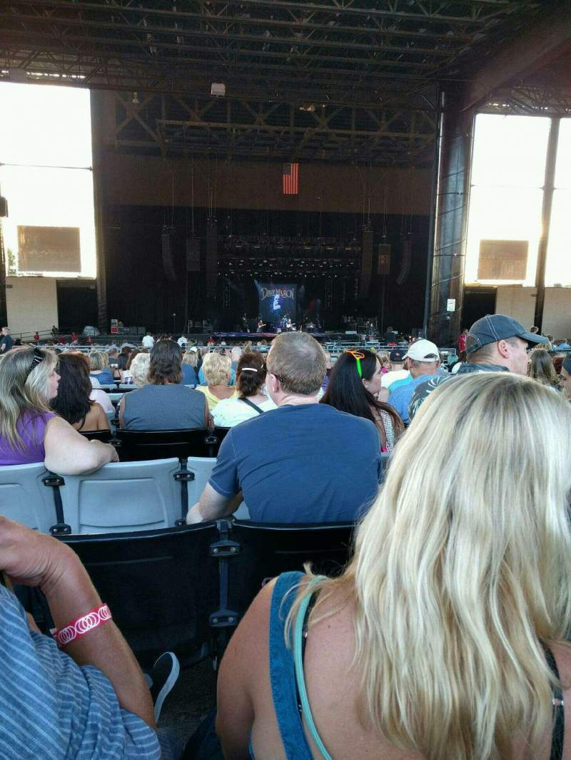 Seating view for Hollywood Casino Amphitheatre (Tinley Park) Section 205 Row EEE Seat 15