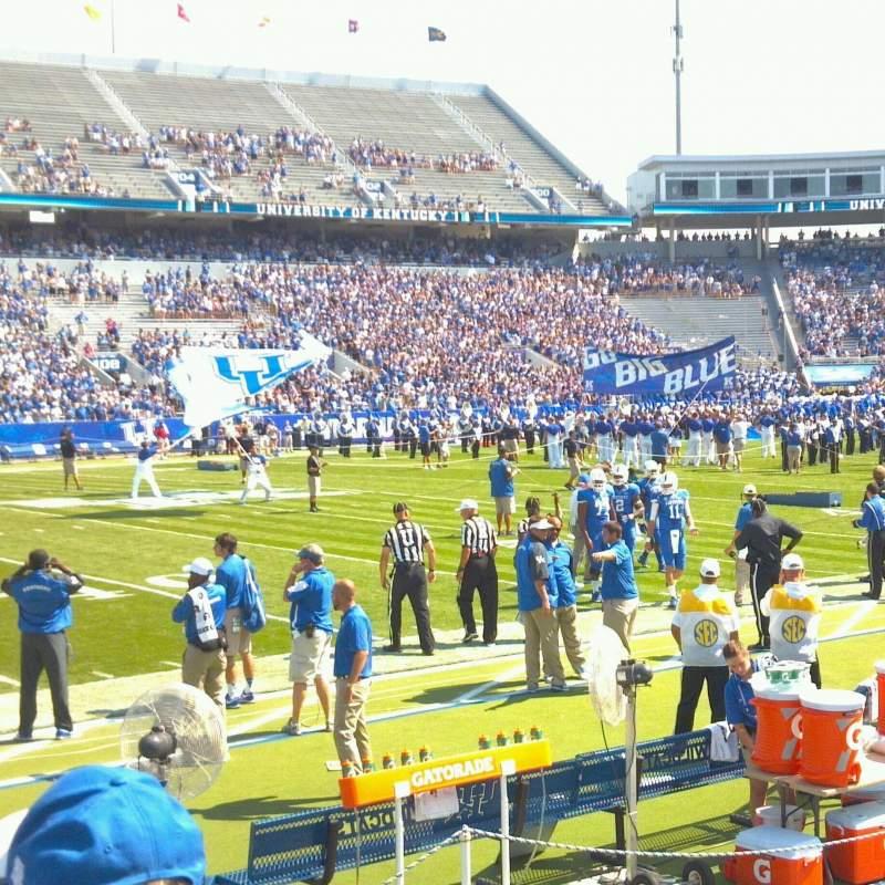 Kroger Field, section: 110, row: 5, seat: 13