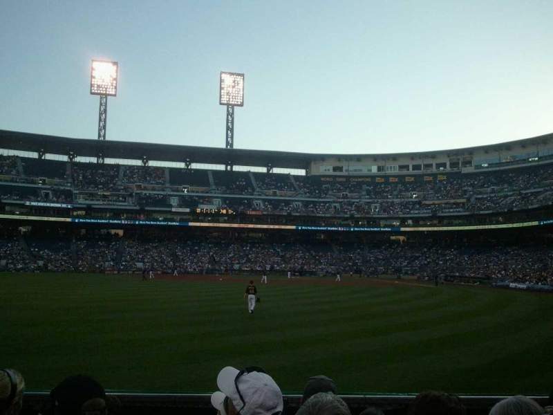 Seating view for PNC Park Section 136 Row E Seat 9