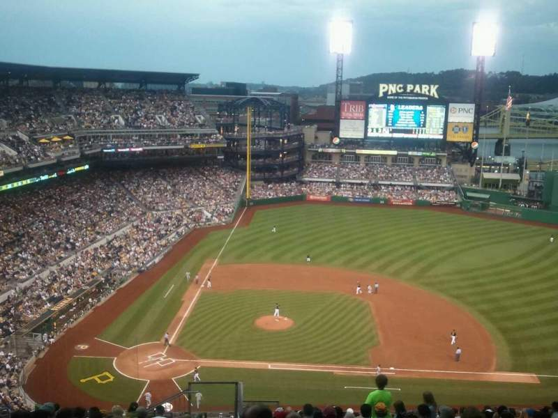 Seating view for PNC Park Section 310 Row W Seat 24