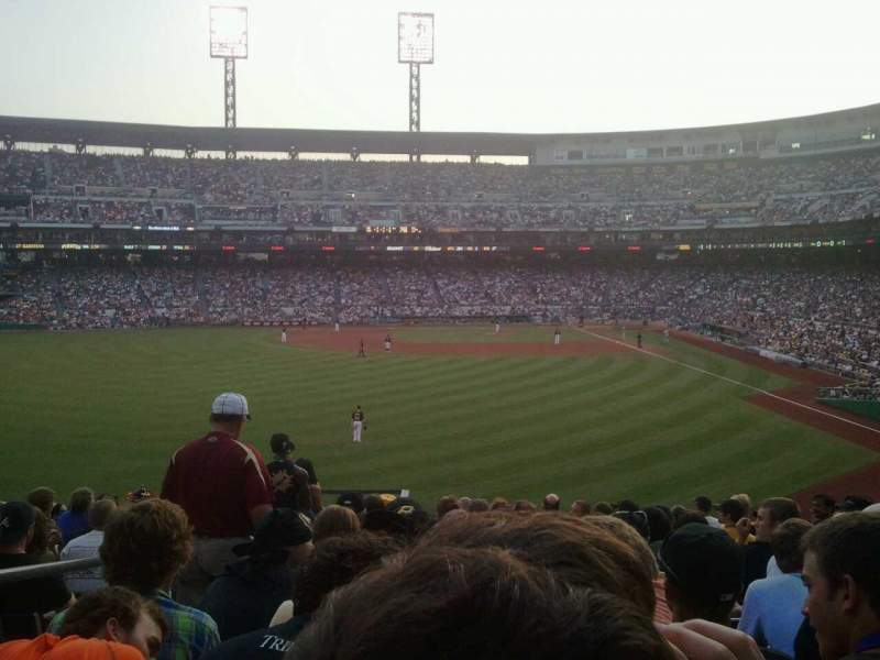 Seating view for PNC Park Section 235 Row P Seat 20