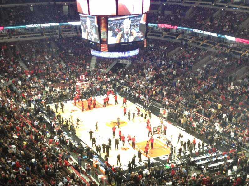 Seating view for United Center Section 330 Row 17 Seat 3