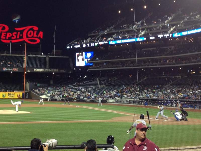 Seating view for Citi Field Section 121 Row 5 Seat 5