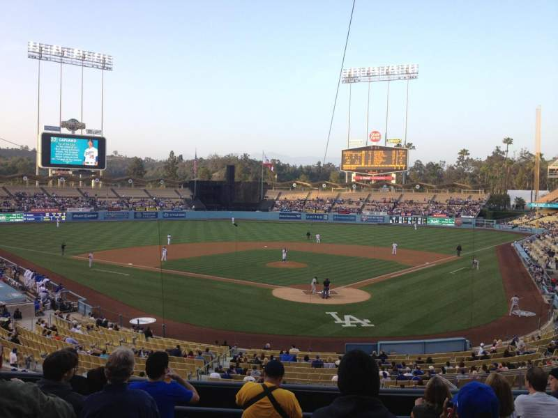 Seating view for Dodger Stadium Section 105LG
